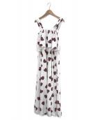 gelato pique(ジェラート・ピケ)の古着「ハート柄ドレス」|ホワイト