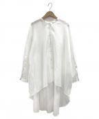 LE PHIL(ル フィル)の古着「ライトローンブラウス」 ホワイト