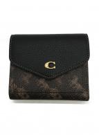 COACH(コーチ)の古着「3つ折り財布」|ブラウン×ブラック