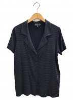 agnes b()の古着「オープンカラーシャツ」|ネイビー
