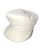 INTIMITE(アンティミテ)の古着「Linen Casquette」|ホワイト