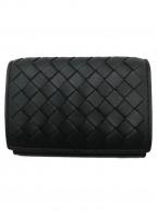 BOTTEGA VENETA()の古着「3つ折り財布」|ブラック