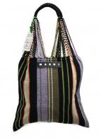 MARNI(マルニ)の古着「フラワーカフェバッグ」|パープル