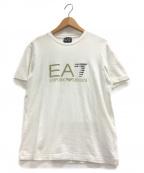 EMPORIO ARMANI EA7(エンポリオアルマーニ イーエーセブン)の古着「ロゴTシャツ」|ホワイト