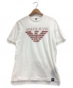 ARMANI JEANS(アルマーニジーンズ)の古着「Tシャツ」|ホワイト