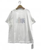 gelato pique(ジェラート・ピケ)の古着「ぬいぐるみワンポイントTシャツ」|ホワイト