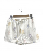 gelato pique(ジェラート・ピケ)の古着「ぬいぐるみモチーフショートパンツ」|ホワイト