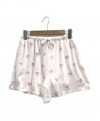gelato pique(ジェラート・ピケ)の古着「ハートモチーフショートパンツ」|ピンク