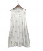 gelato pique(ジェラート・ピケ)の古着「ジェラートモチーフドレス」|ホワイト