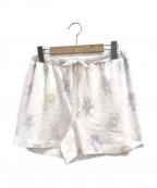 gelato pique(ジェラート・ピケ)の古着「ぬいぐるみモチーフショートパンツ」|ピンク