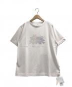 gelato pique(ジェラート・ピケ)の古着「ぬいぐるみワンポイントTシャツ」|ピンク