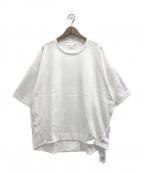 gelato pique(ジェラート・ピケ)の古着「スポーティーロゴポンチプルオーバー」|ホワイト