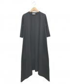 RIM.ARK(リムアーク)の古着「カットソーワンピース」|ブラック