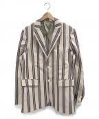 Mr.Gentleman(ミスタージェントルマン)の古着「テーラードジャケット」|ベージュ
