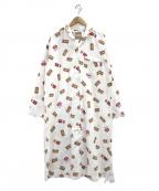 gelato pique(ジェラート・ピケ)の古着「シャツドレス」|ホワイト