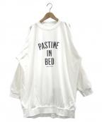 gelato pique(ジェラート・ピケ)の古着「ロゴワンポイントドレス」 ホワイト
