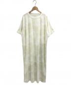 gelato pique(ジェラート・ピケ)の古着「タイダイプリントドレス」|グリーン