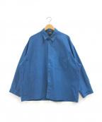 big mac(ビッグマック)の古着「シャツ」|ブルー