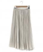GALLARDA GALANTE(ガリャルダガランテ)の古着「デシンギャザースカート」 ライトグレー