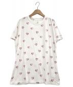 ()の古着「ハートモチーフTシャツ」|ホワイト
