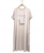gelato pique(ジェラート・ピケ)の古着「ワンポイントドレス」|ピンク