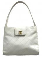 ()の古着「ハンドバッグ」|ホワイト