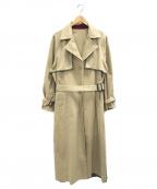 Ameri VINTAGE(アメリヴィンテージ)の古着「別注リバーシブルトレンチコート」|ベージュ×グレー