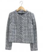 ANAYI(アナイ)の古着「ツイードジャケット」|ネイビー