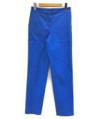 ()の古着「センタープレスパンツ」 ブルー