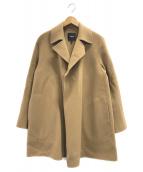 ()の古着「ウールカシミヤオープンコート」 ブラウン