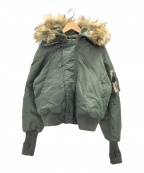 AVIREX(アヴィレックス)の古着「ミリタリージャケット」 グリーン