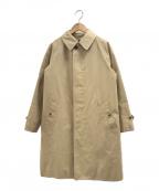 Gymphlex(ジムフレックス)の古着「ステンカラーコート」 ベージュ