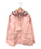 AIGLE(エーグル)の古着「ホリーンジャケット」 ピンク