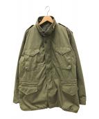 ()の古着「ミリタリーコート」 グリーン