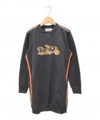 COACH(コーチ)の古着「スウェットワンピース」|グレー