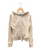 ()の古着「ジップジャケット」|ベージュ