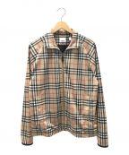 BURBERRY()の古着「ジップジャケット」|ベージュ