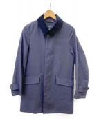 Traditional Weatherwear(トラディショナル ウェザーウェア)の古着「ライナー付ステンカラーコート(KILMANY)」|ネイビー