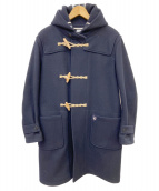 ORCIVAL(オーシバル)の古着「メルトンロングダッフルコート」|ネイビー