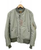 Buzz Ricksons(バズリクソンズ)の古着「MA-1ジャケット」|カーキ