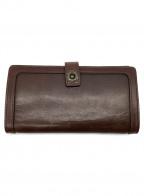 UNISON DEPT()の古着「長財布」|ブラウン