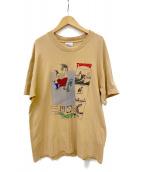 THRASHER(スラッシャー)の古着「90s スラパスTシャツ」|ベージュ