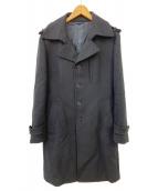 EPOCA UOMO(エポカ ウォモ)の古着「カシミヤ混トレンチコート」 ブラック