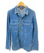 Wrangler(ラングラー)の古着「70s デニムシャツ」|インディゴ