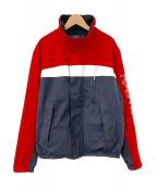 NAUTICA(ノーティカ)の古着「セーリングジャケット」|ネイビー×レッド