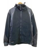 NIKE×FCRB(ナイキ×エフシーアールビ)の古着「フリースフーデッドジャケット」|ブラック