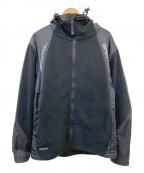 NIKE×FCRB(ナイキ×エフシーレアルブリストル)の古着「フリースフーデッドジャケット」|ブラック