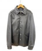eYe COMME des GARCONS JUNYAWATANABE MAN()の古着「レザージャケット」|ブラック
