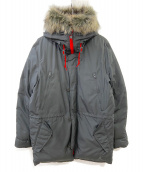 NIKE(ナイキ)の古着「ダウンジャケット」|ブラック