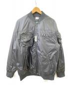 PUMA(プーマ)の古着「ボンバーダウンジャケット」|ブラック